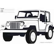 Free Jeep Coloring Pages To Print For Kids Download And Color