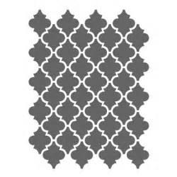 Moorish Trellis Stencil Moroccan Stencils Template Small Scale For Crafting