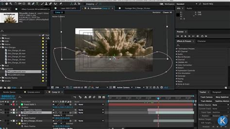 tutorial after effect bomb compositing an explosion with after effects lesterbanks