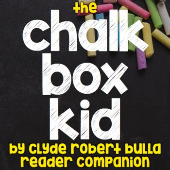 the chalk box kid the paint brush kid by clyde robert