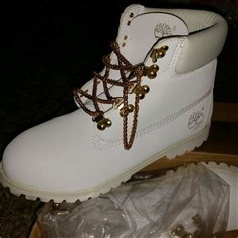 73 timberland boots all white timberlands with