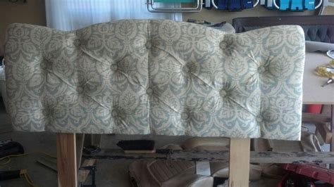 Button Tuck Headboard Things I Have Made Pinterest