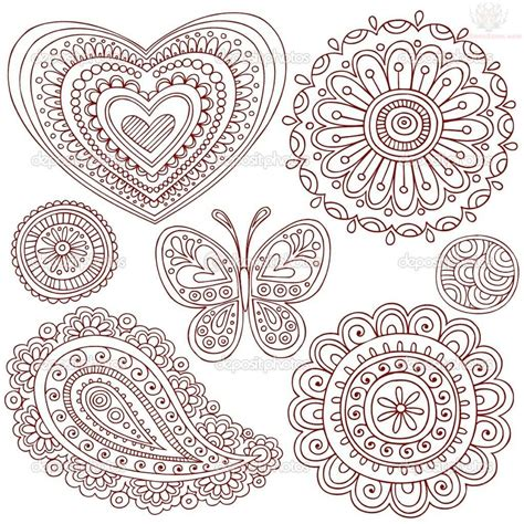 henna tattoo designs pdf paisley pattern henna designs angela