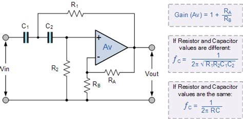 high pass filter order second order filters second order low pass filter