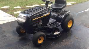 yard machine 38 mower mtd yard machines 38 quot 13 5 hp lawn tractor
