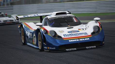 rothmans porsche 911 ks porsche 911 gt1 rothmans skin racedepartment