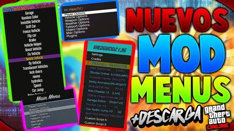 nuevo mod menu de gta v de pago youtube nuevos mod menus texturas de coches y m 193 s cex y dex
