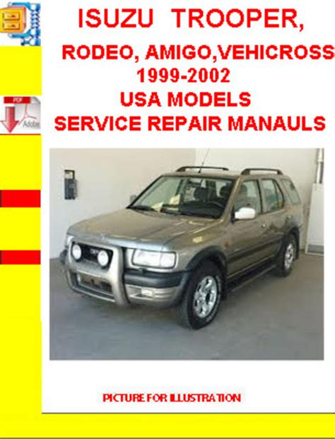 service repair manual free download 1998 isuzu amigo parking system isuzu trooper 1999 workshop manual pdf download autos post