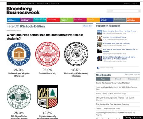 Which Mba Most Attractive by The Mba Dating B Schools With Most Attractive Student