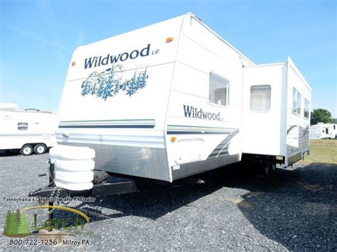 used 2005 forest river rv wildwood le 31qbss le travel forest river wildwood 31qbss rvs for sale