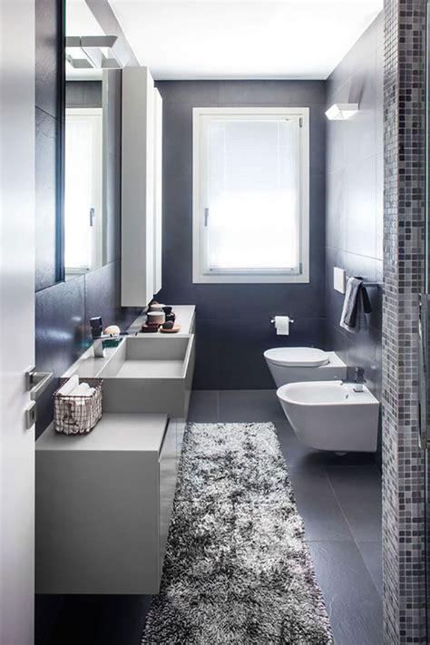 idee arredare bagno 15 idee di design per arredare un bagno stretto e lungo
