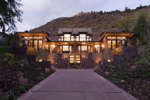 modern mountain homes contemporary mountain home in aspen