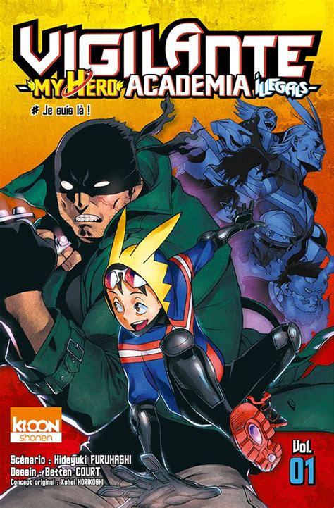 My Academia Vol 3 vol 1 vigilante my academia illegals news