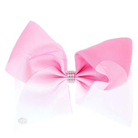 Jojo Siwa Bow By Timorashop jojo siwa large white pink ombre signature hair bow