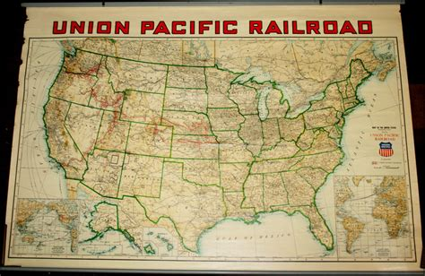 union pacific railroad map union pacific railroad map of the united states barry ruderman antique maps inc