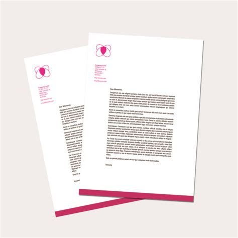 business letterhead templates indesign letterhead templates indesign free printable letterhead