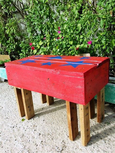 painted wooden garden bench pallet benches for garden 99 pallets