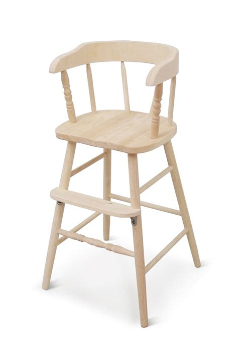 unfinished wood chairs childrens unfinished solid parawood youth booster chair