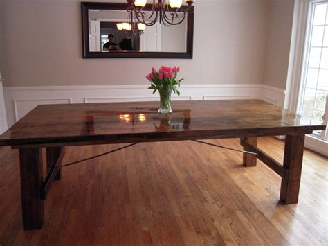 maple dining room table spalted maple table traditional dining room detroit