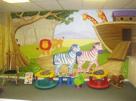 daycare wall murals day care murals mural magic