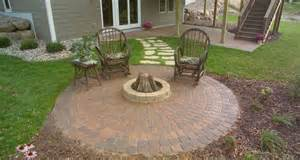 Circle Paver Patio Kits Anchor Block Products Cobble Pavers