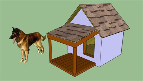 how to build a dog house with a porch diy dog house plans howtospecialist how to build step by step diy plans
