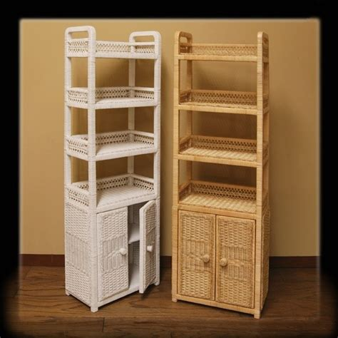 bathroom wicker storage bathroom cabinets storage home decor ideas modern