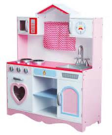 Kitchen Set Pink large pink wooden play kitchen children s play pretend set ebay