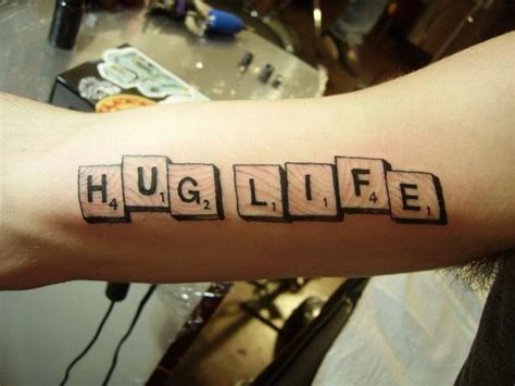 scrabble tattoo design tattoo lettering hug scrabble