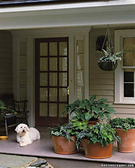 Container Garden Ideas For Any Household Martha Stewart Planters For Front Porch