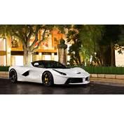 Bianco Ferrari LaFerrari  White Exterior Color