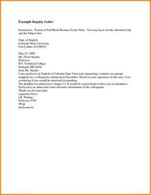 Business Letter Attn The Letter Sample