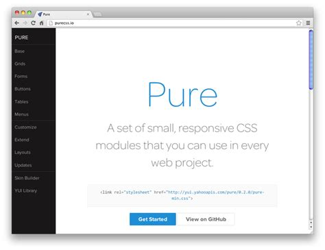 yahoo pure layout super useful tools for css coding dzone web dev