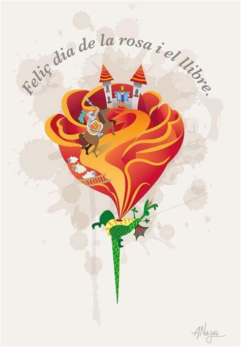 imagenes sant jordi whatsapp participa en el concurso de ilustraciones la rosa de sant