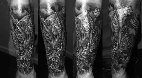 30 dragon forearm tattoo designs for men cool creature ideas