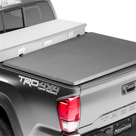 truck bed cover with tool box advantage truck accessories 174 gmc sierra 2008 2010 hard