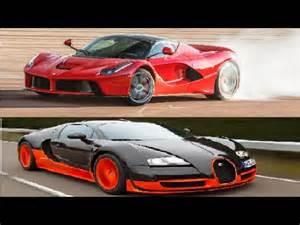 Laferrari Vs Bugatti Laferrari Vs Bugatti Veyron