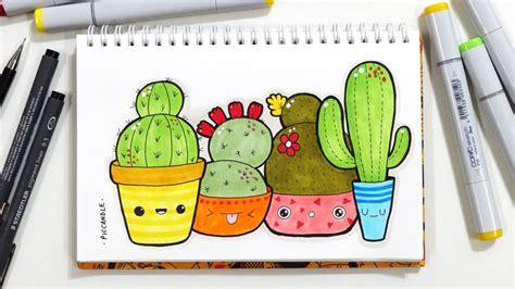 cactus doodle cactus a practice doodle