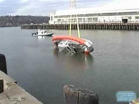 unsinkable boats for sale used coast guard 42 archangel rollover youtube