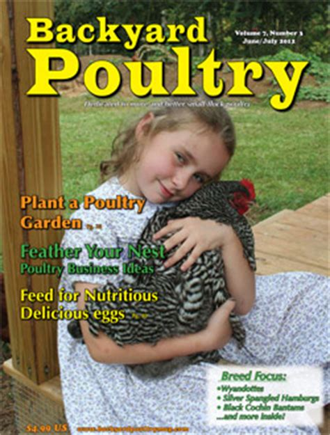 Backyard Chicken Magazine Backyard Poultry Magazine Subscription
