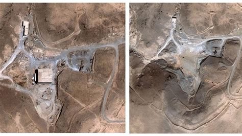syria before and after israel used 17 tons of explosives to destroy syrian