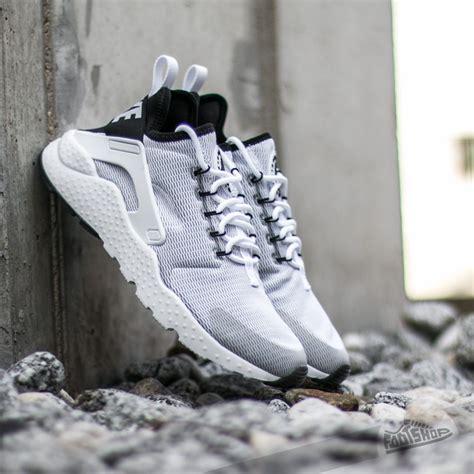 Nike Huarache Run Ultra Black White Premium Quality nike w air huarache run ultra white white black footshop