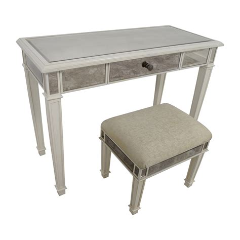 Pier One Vanity Table 74 Pier 1 Imports Pier 1 Imports Antique White Mirrored Vanity Table And Stool Tables