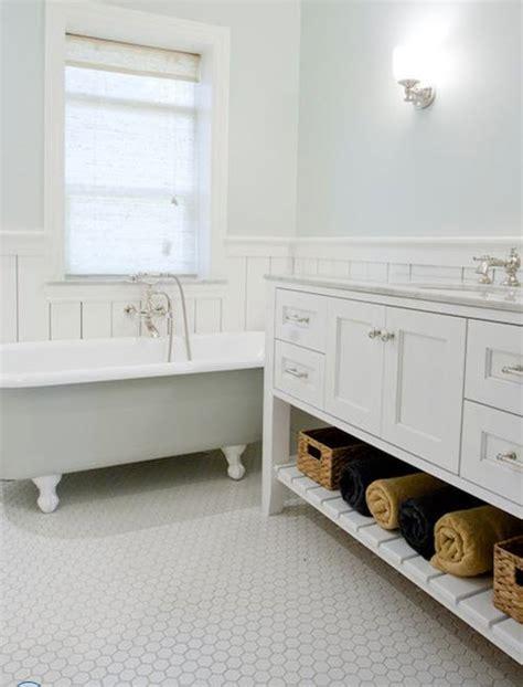 1 Inch White Bathroom Floor Tile - 34 white hexagon bathroom floor tile ideas and pictures