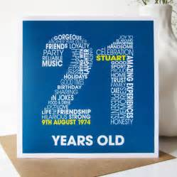 personalised 21st birthday card by mrs l cards