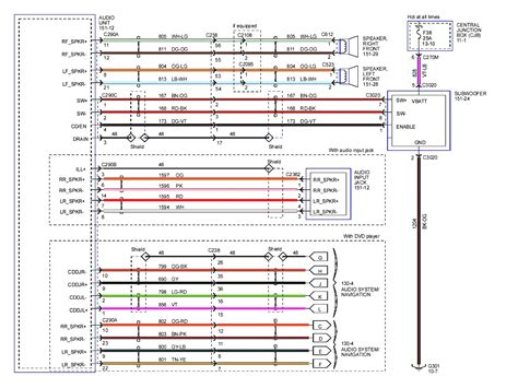 2010 toyota stereo wiring diagram wiring diagrams