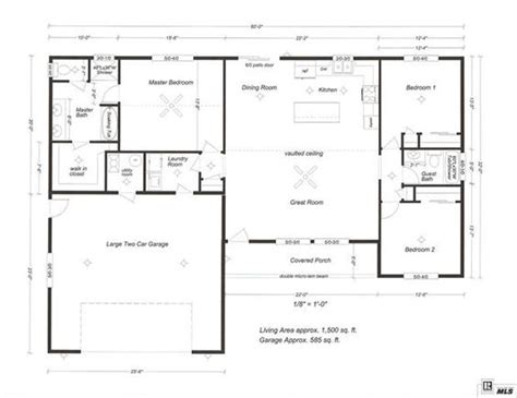 1500 Sq Ft Open Floor Plan Person Needs Very Little To 1500 Square Foot Open Floor Plans