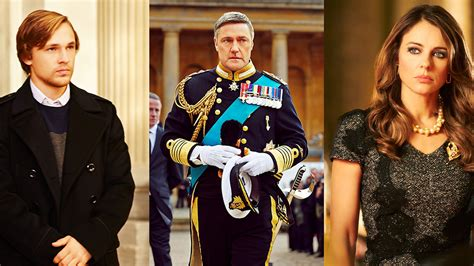 Drama In Liz Hurleys by E Orders Elizabeth Hurley S The Royals As