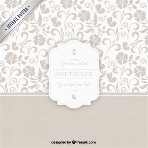 freepik wedding pattern ornamental pattern with wedding badge vector premium