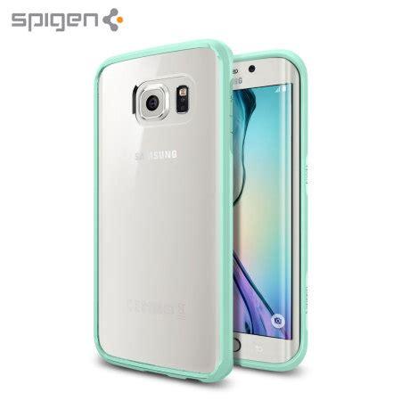 Official Samsung Galaxy S6 Edge Protective Cover Mint spigen ultra hybrid samsung galaxy s6 edge mint mobilezap australia